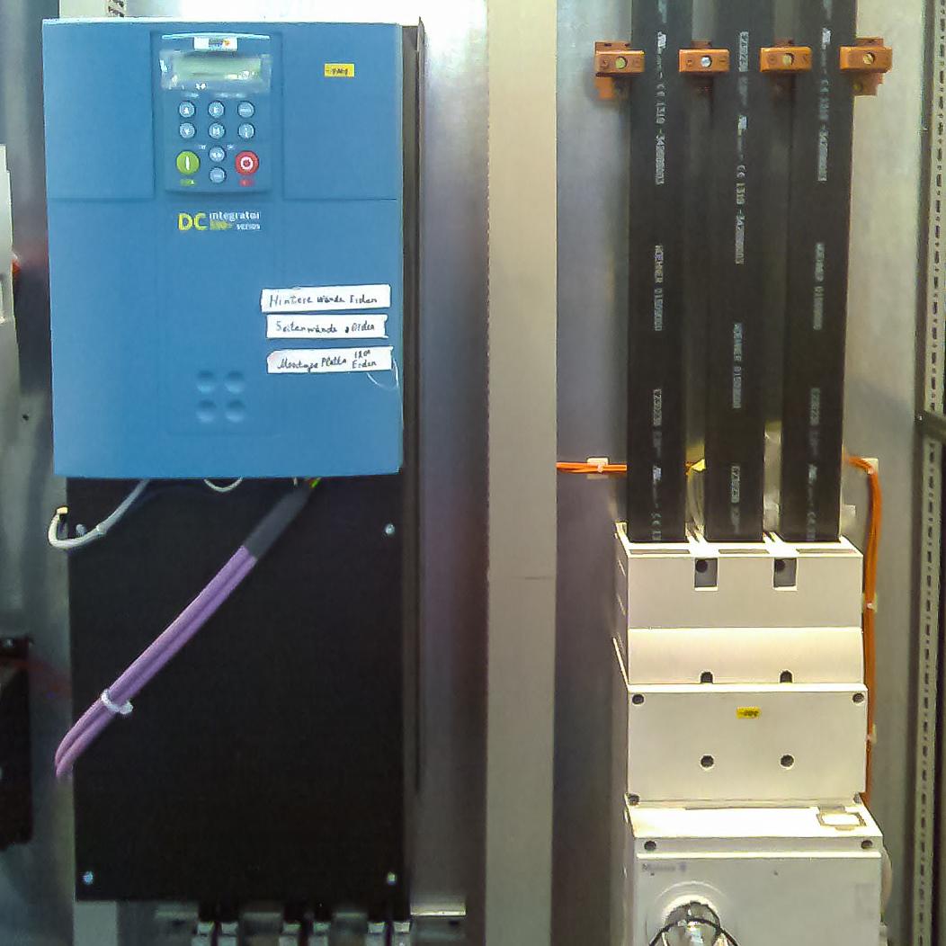 Blitzschutzinstallation im Gebäude durch F+L Elektrotechnik GmbH