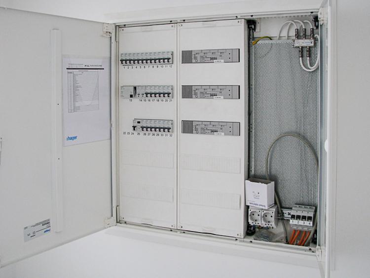Wohnungsverteilung - F+L Elektrotechnik GmbH