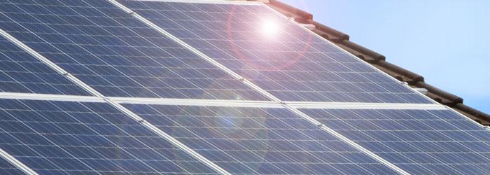 Strom aus der Sonne mit einer durch die F+L Elektrotechnik GmbH installierten Solaranlage