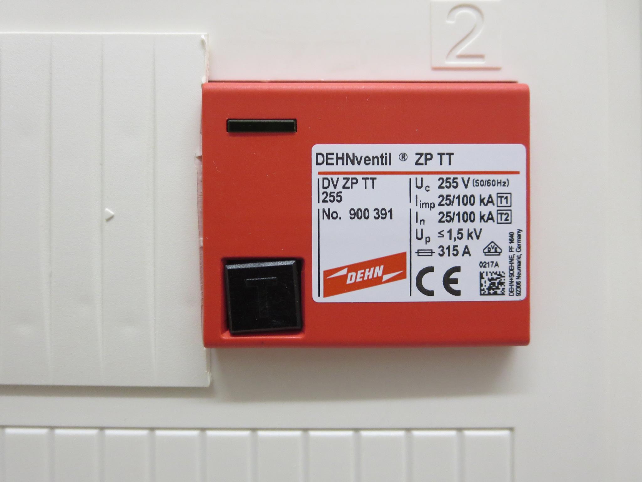 Interne Blitzschutzinstallation von F+L Elektrotechnik GmbH